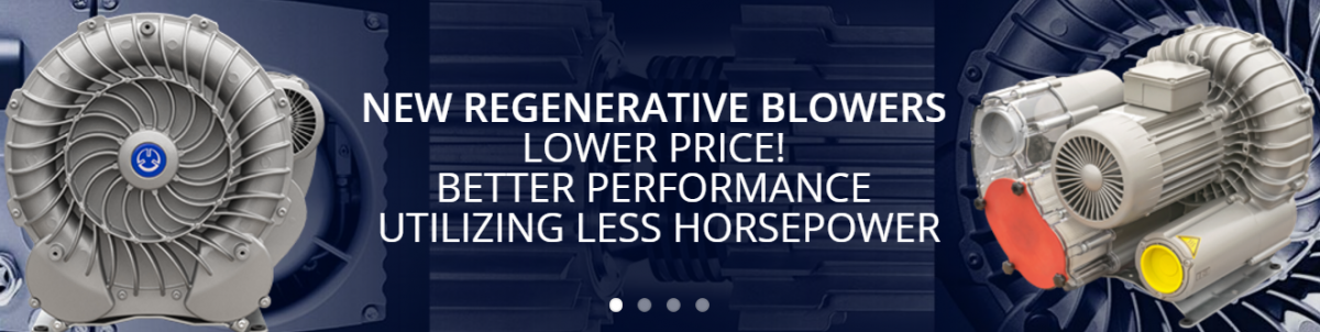 Centralized Air System Products | Becker Regen Blower