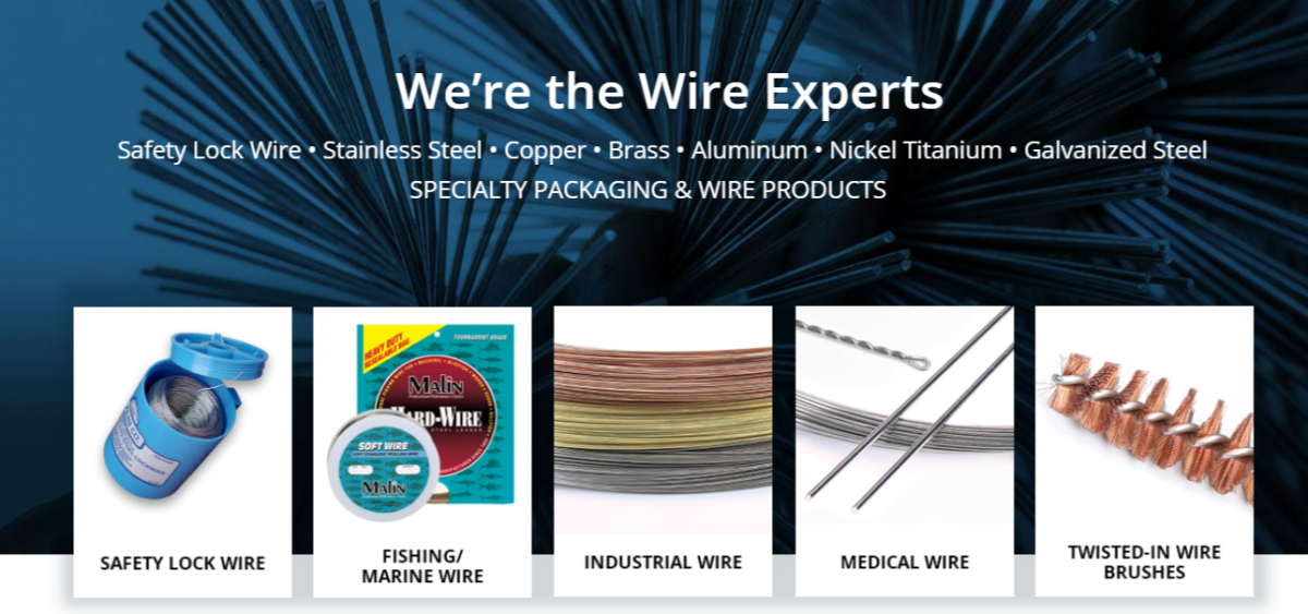 Safety Wire | Malin co. Wire Products | High-Quality Industrial Wire
