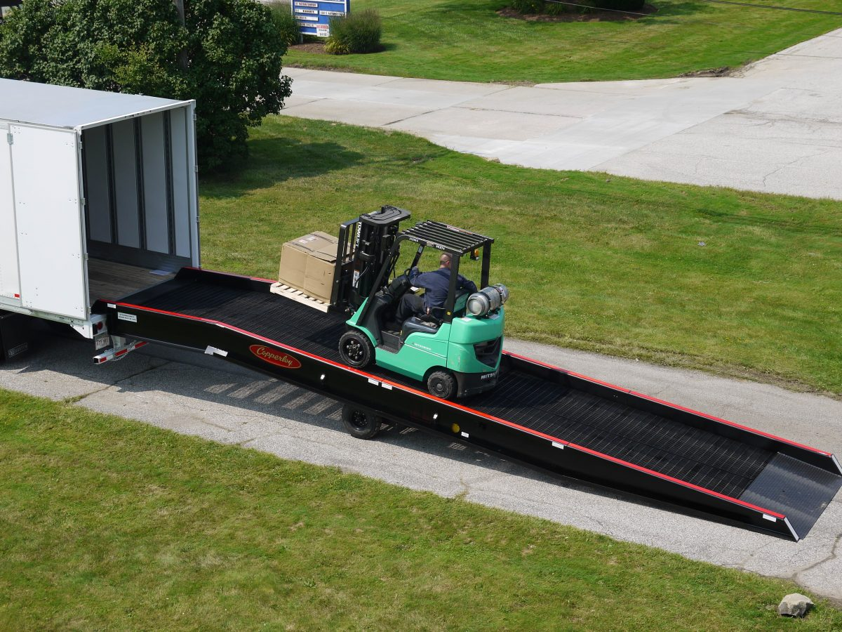 Copperloy Hydraulic Forklift Ramp