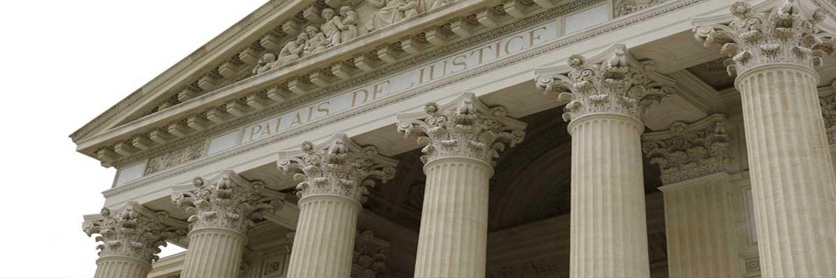 Courthouse pillars, lawyer Brunswick Ohio.