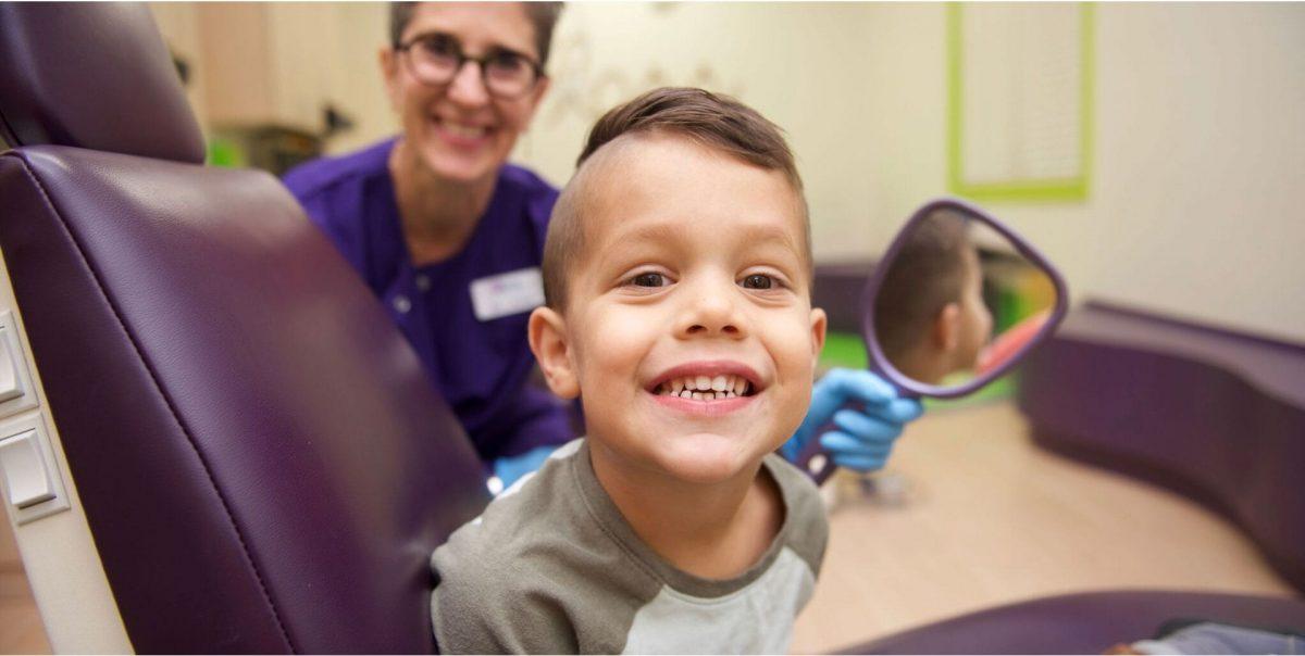 A patient of GPBD kids dentists.