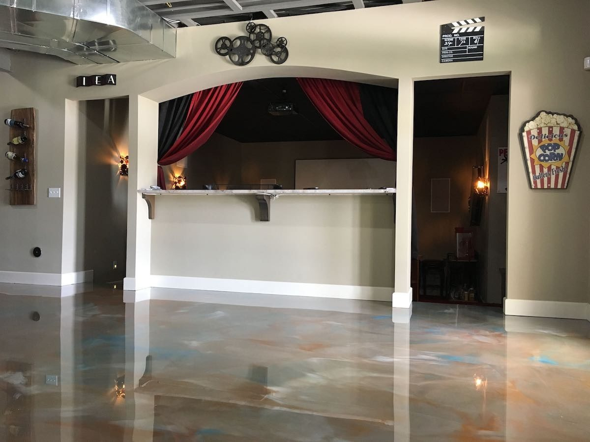 Basement Floor Epoxy