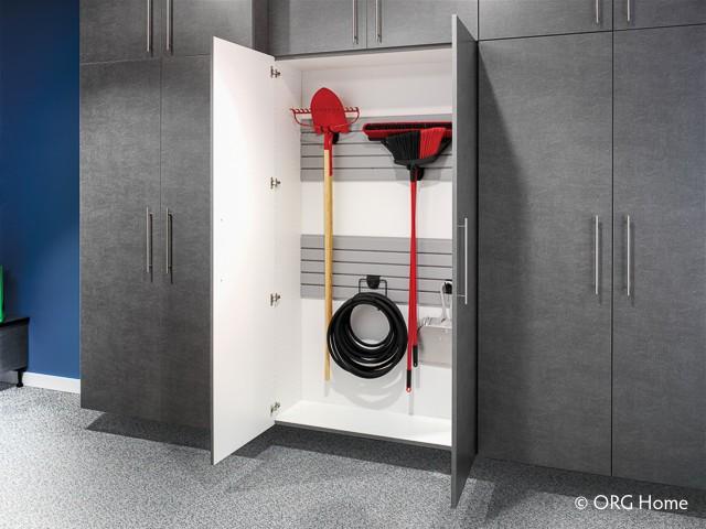 Garage Storage Shelves - Ohio Garage Interiors - Garage Flooring, Basement Flooring - Epoxy Coating Solutions - Residential and Commercial