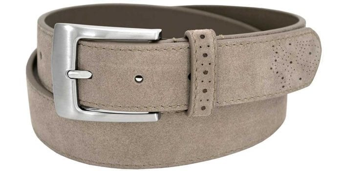 Men's Tan Leather Belt