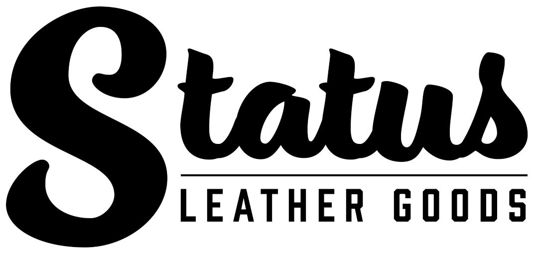 Men's Grey Leather Belt