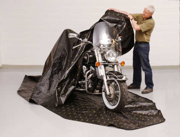 Anti Rust Motorcycle Storage Bag - Zerust Consumer Products | Rust & Corrosion Prevention Products