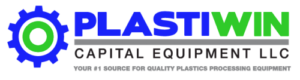 used injection molding equipment PlastiWin Capital Equipment, LLC logo