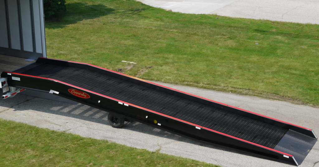 Advantages of the Box Truck Loading Ramp