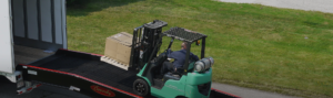 heavy duty ramps with forklift