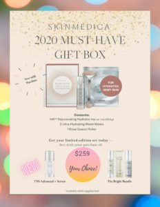 SkinMedica holiday bundles graphic