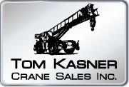 used deck crane Tom Kasner Crane Sales, Inc.