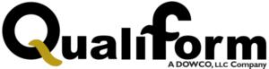 custom rubber product manufacturers Qualiform logo